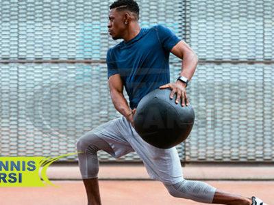 تمریناتی جهت تقویت عضلات میان تنه ورزشکاران تنیس