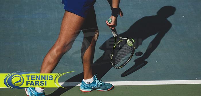 نکات مهم در خصوص عملکرد پا در تنیس