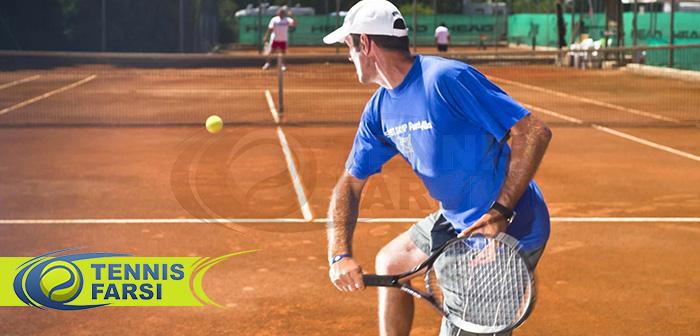 بهبود تنیس با استفاده از ضربات آزاد تنیس