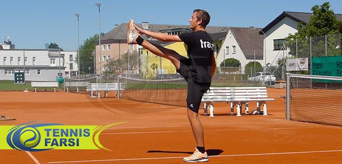 نحوه گرم کردن بدن در تنیس برای داشتن حداکثر عملکرد