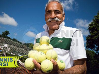 منصور بهرامی نماینده تنیس ایران
