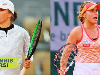 سوفیا کنین - ايگا اشوياتک تنیس آزاد فرانسه ۲۰۲۰