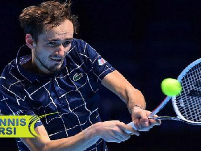 دنیل مدودف تور جهانی تنیس ۲۰۲۰