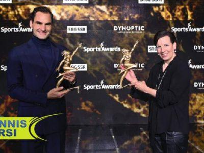 راجر فدرر بهترین ورزشکار مرد سوئیس